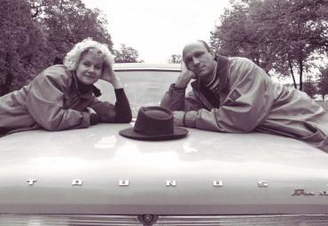 Med Viveka Seldahl i Lars Garage, Klara Soppteater 1993-1995.
