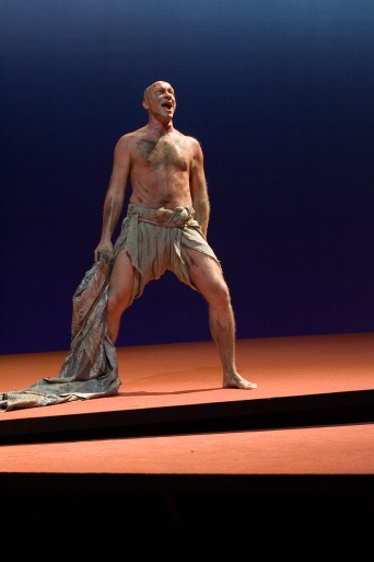 Stormen, Stockholms Stadsteater. Caliban i Shakespeares Stormen 2003. Regi Jan Magaard.