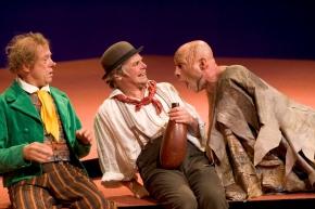 STORMEN av William Shakespeare Stockholms Stadsteater 2004 regi Jan Maagaard. Med Stefan Ekman och Bengt Järnblad.